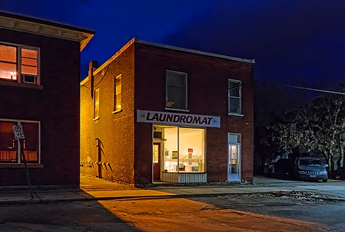 Laundromat At First Light 20110102