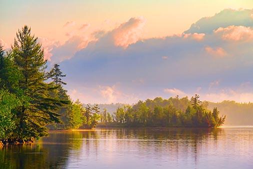 Silver Lake At Sunset 20110628