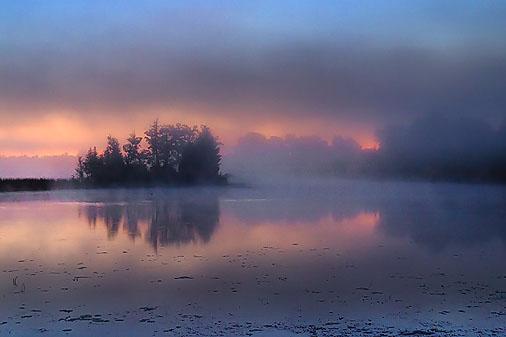 Foggy Sunrise 20110802