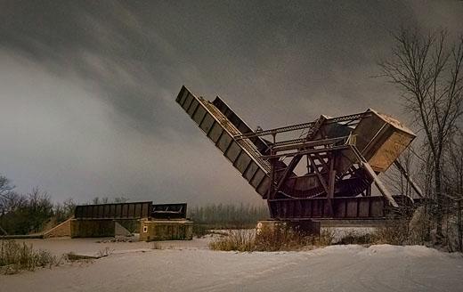 Scherzer Rolling Lift Bridge 20120105
