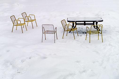 Table & Chairs On Mud Lake DSCF03900