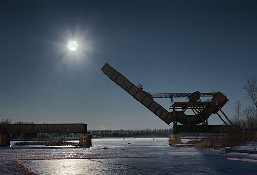 Scherzer Rolling Lift Bridge 20120208