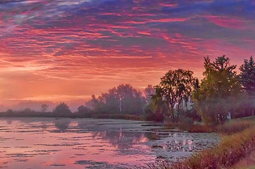 Rideau Canal Sunrise 28707-10