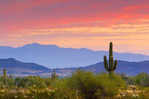 Arizona At Sunrise 20060127