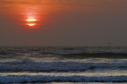 Mustang Island Sunrise 45091