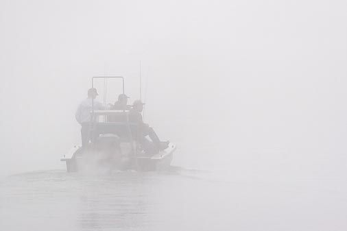 Heading Out In Fog 46188