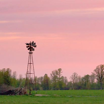 Blown Out Windmill 60120