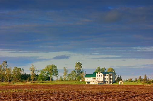 Farm Near Sunset 9167