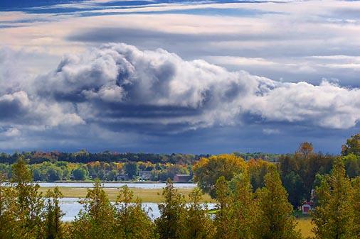 Clouds Over Sturgeon Lake 67536