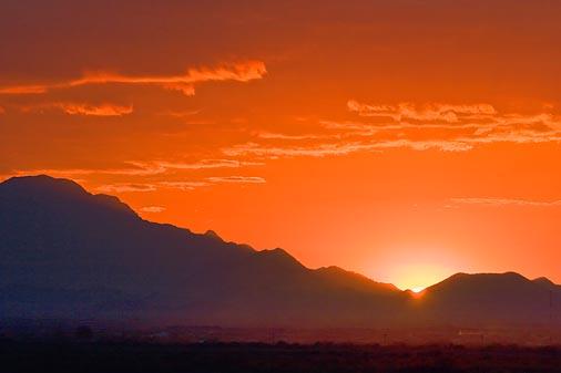 Desert Sunset 74495