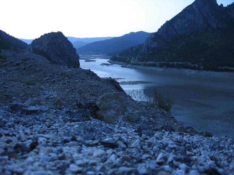 Kizilirmak River on the way from Havza to Vezirkopru; Samsun, Turkey