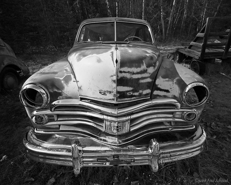1950 Dodge (B&W)