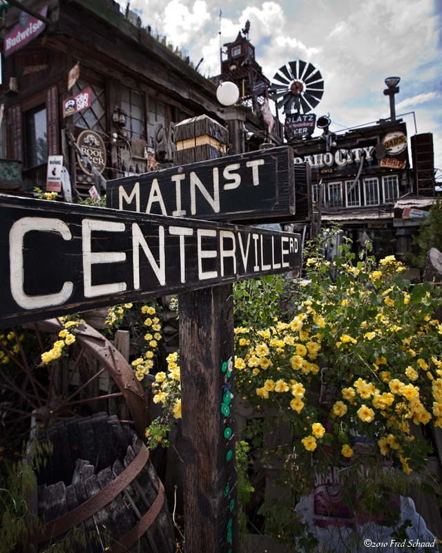 Corner of Main & Centerville