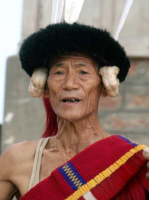 Sangtam Warrior.