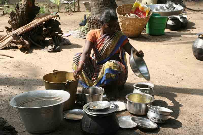 In a village near Pondicherry.