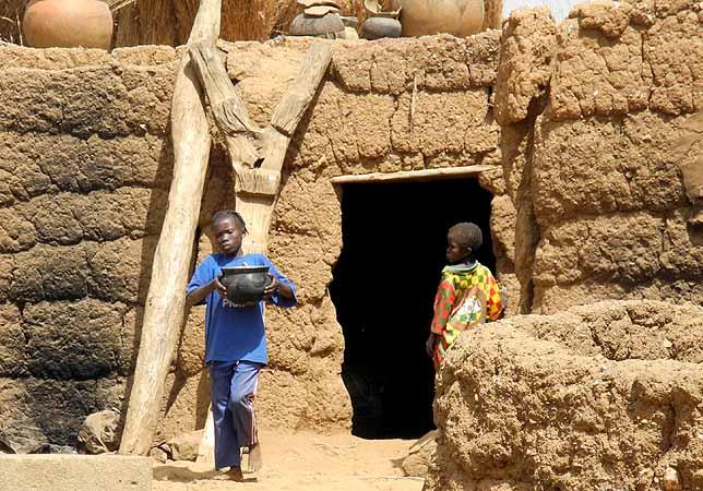 Lobi house, Burkina Faso