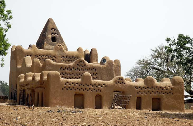 Old mosque of Kombissiri, Burkina Faso
