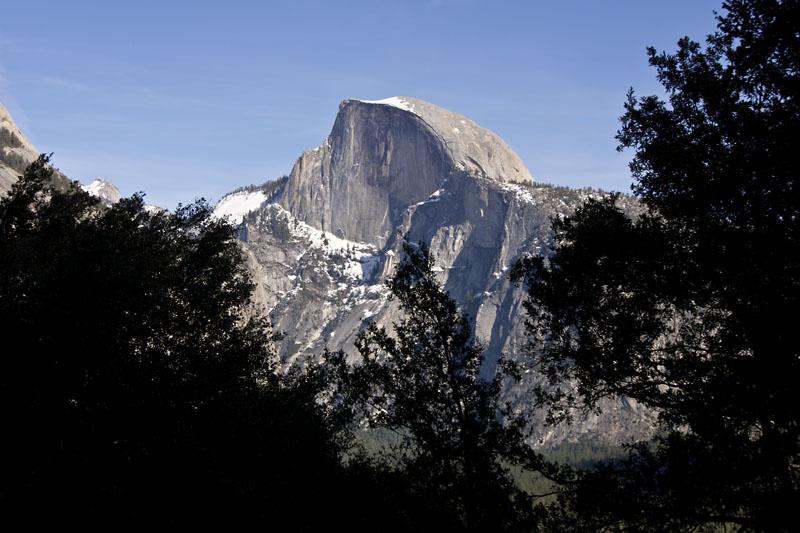 Little hike up Yosemite Falls - Half Dome