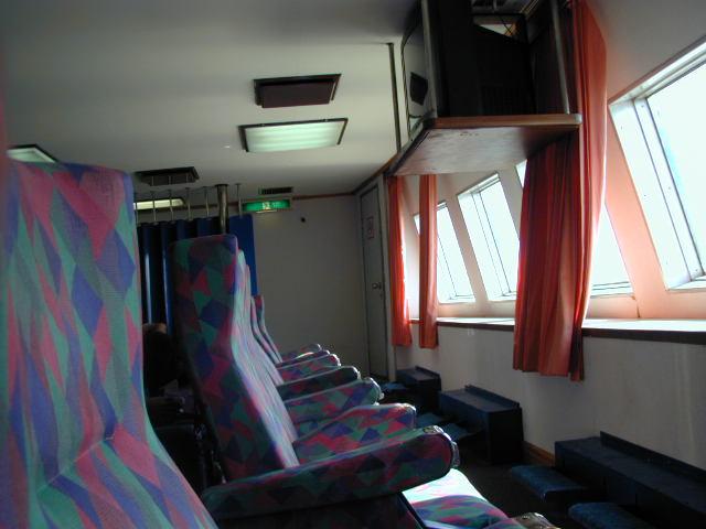 Ruang VIP, dibagian depan kapal