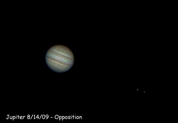 Jupiter at Opposition 2009