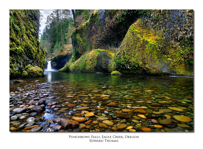 Eagle Creek and Punchbowl Falls
