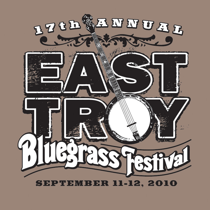 2010 East Troy Bluegrass Festival T-shirt - front