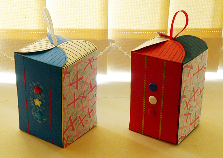 Four sided boxes