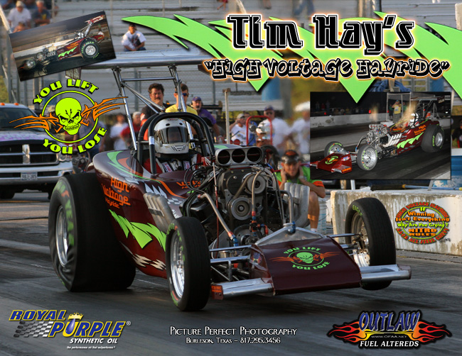 Tim Hay Outlaw Fuel Altered 2009