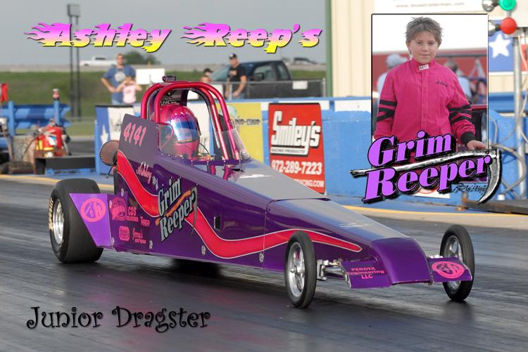 Ashley Reep Junior Dragster 2009