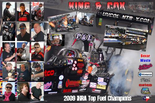 2009 Mitch King Motorsports IHRA Champions