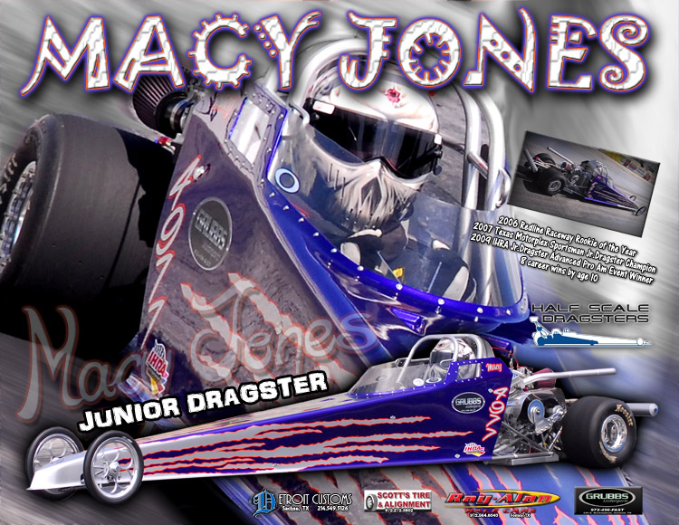 Macy Jones Jr. Dragster 2011