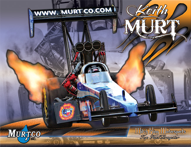Keith Murt Top Fuel 2012