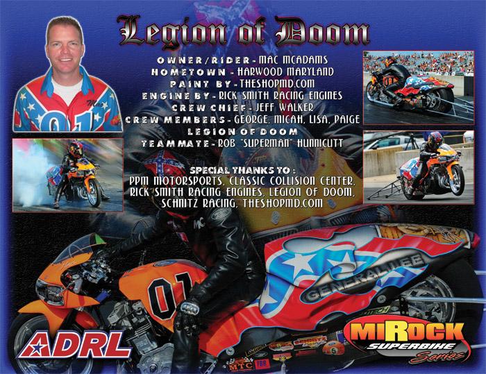 Mac McAdams ADRL 2012