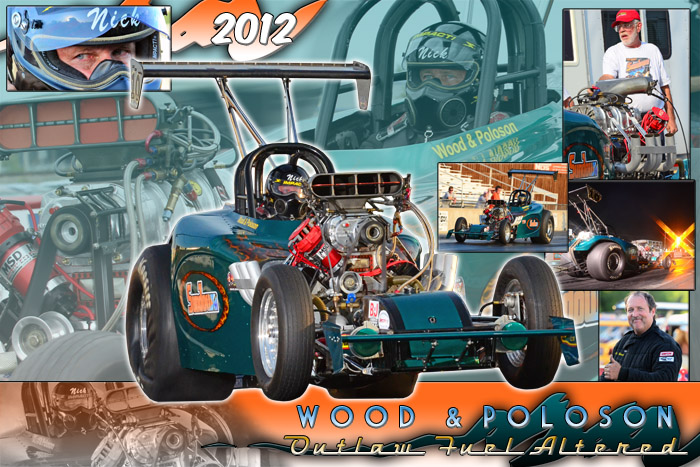 2012 Wood & Poloson Outlaw Fuel Altered