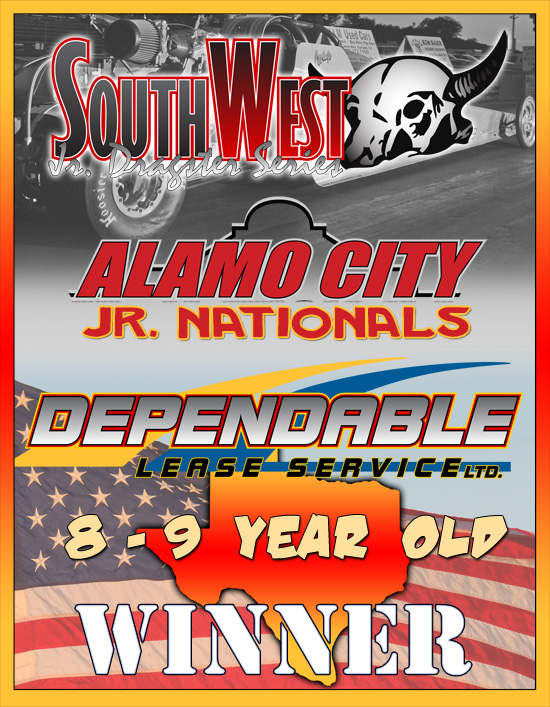 2013 SWJDS Jr. Dragster Event Awards