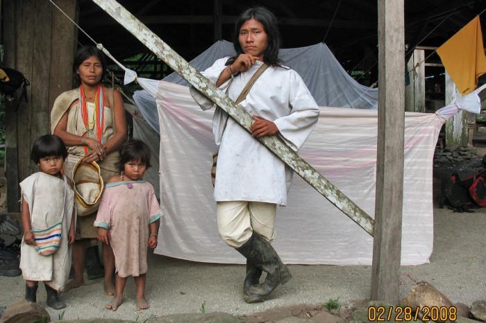 Indigenous Family