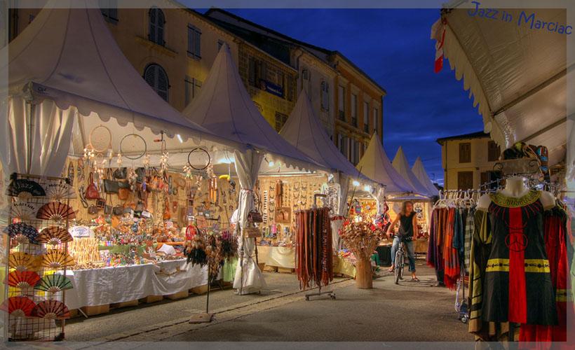 The stalls 2