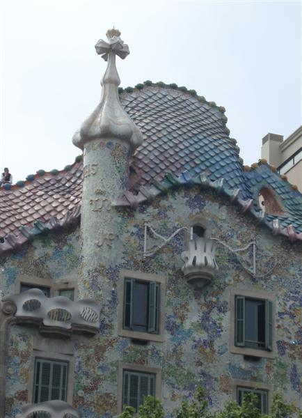 Casa Batllo Upper roof