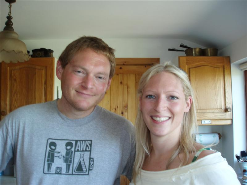 Jamie and Kate