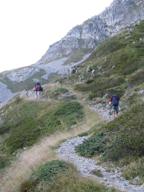 Op weg naar Col de la Valette