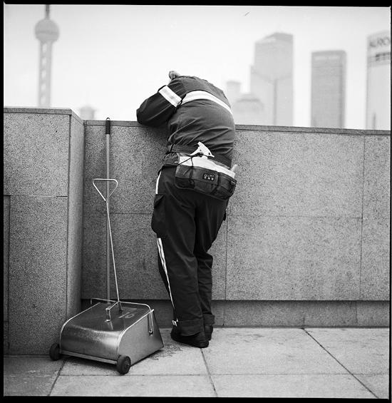 Getting A Head (In The City), Shanghai 2010