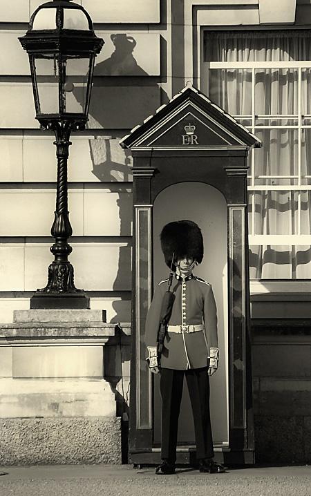 Guard and Lamp