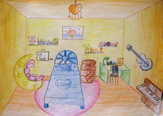 My dream bedroom drawing