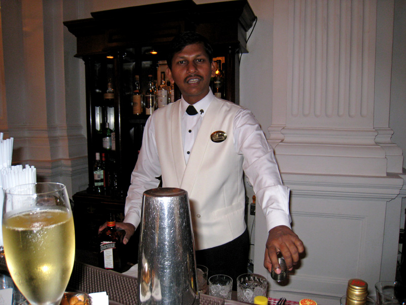 Waiter from the Writers Bar