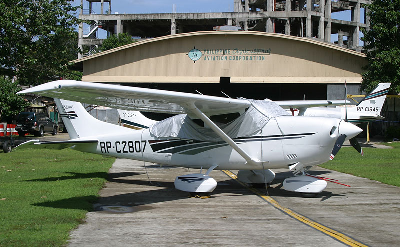 Philippine Agricultural Aviation Corp. hangar