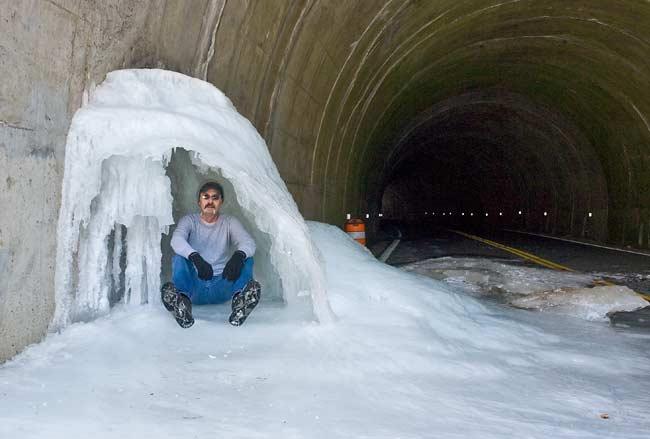 Blue Ridge Parkway Snow 13