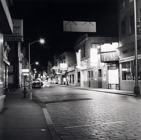 Thames Street, in Newport, RI
