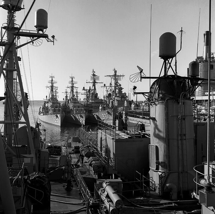 Newport Destroyers 2 ,  Christmas time 1961