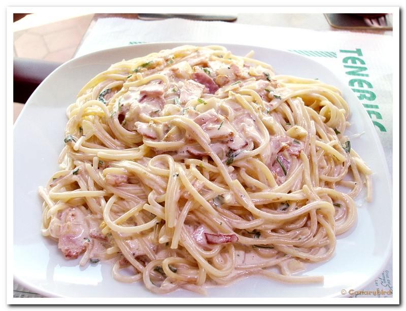 Спагетти сливки рецепт в домашних условиях