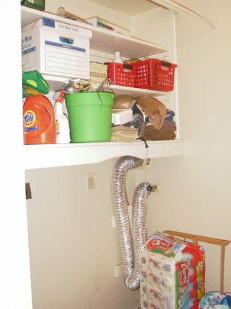 Still need a couple machines in the laundry room... but the shelves are filling up